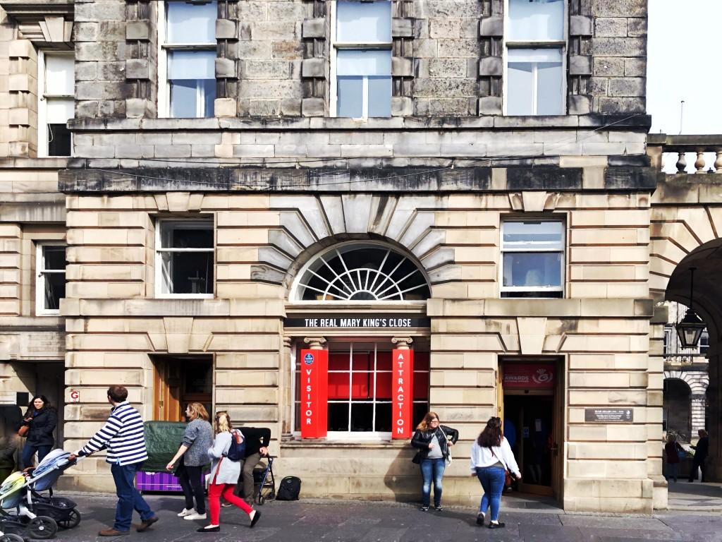 Edinburgh - Von einer Reise in die Vergangenheit -  Mary King´s Close