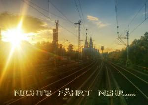 Was tun, wenn die Bahn nicht fährt ? Unsere Teilzeitreisen-Alternativen