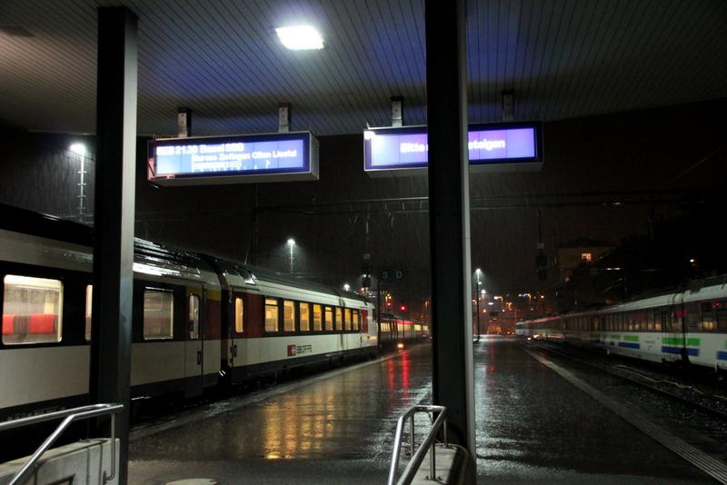 Luzern im Regen