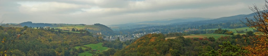 Panoramaansicht Hunsrück