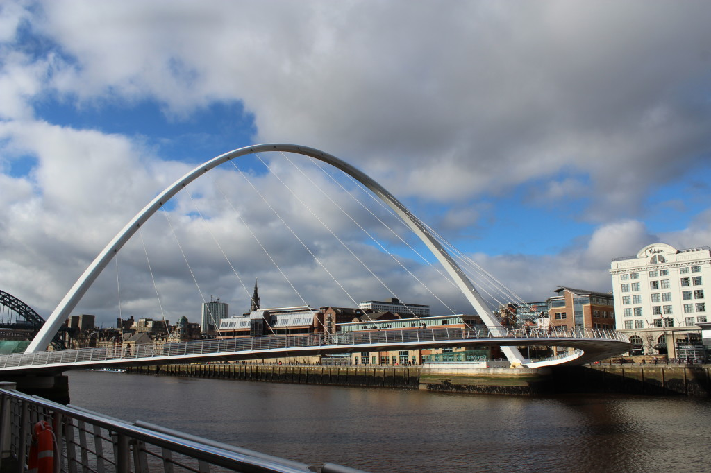 Millenium Bridge Newcastle - Gateshead