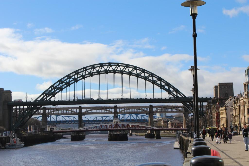 Die Brücken von Newcastle - Gateshead