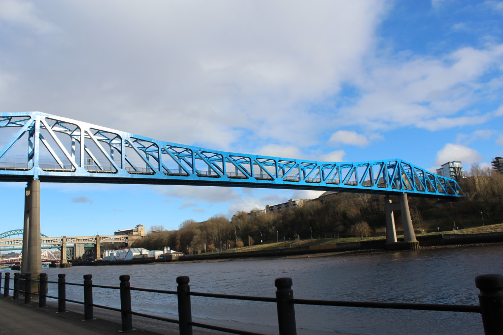 Newcastle upon Tyne: Sehenswürdigkeiten rund um sieben Brücken