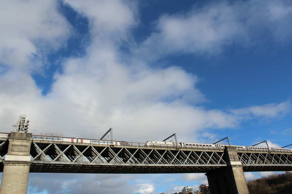 King Edward Bridge Newcastle Gateshead