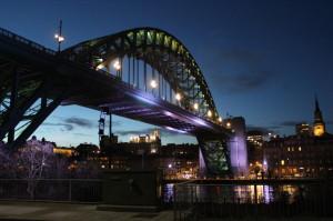 Über sieben Brücken musst du gehen… Um Newcastle oder Gateshead zu sehen!