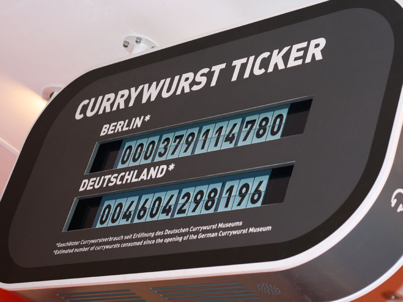 Currywurst-Ticker