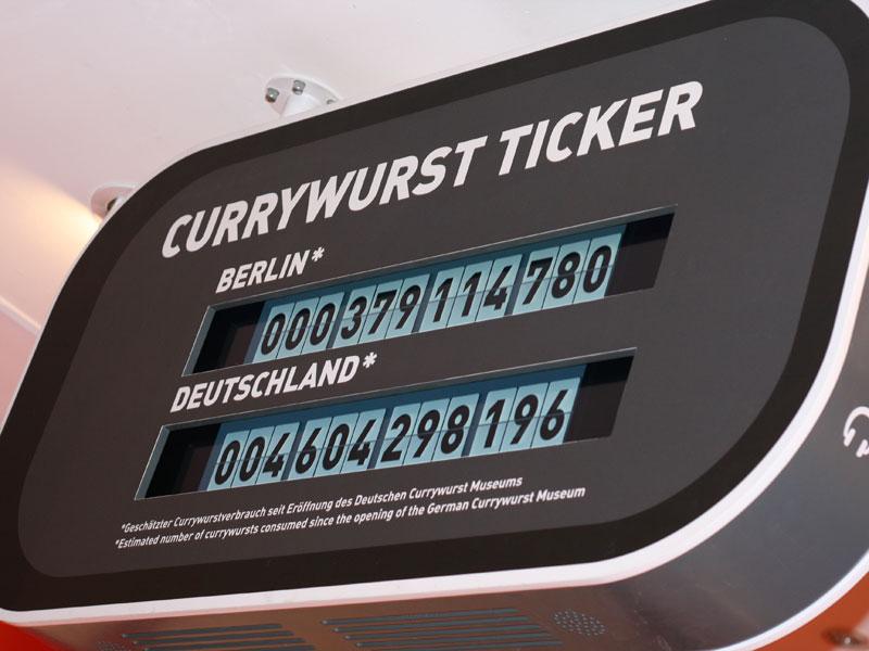 Currywurst-Ticker