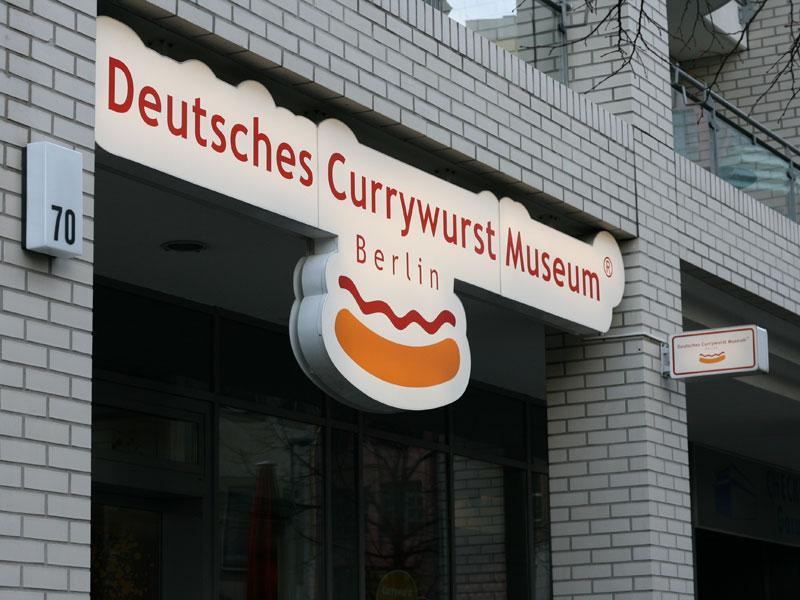 Currywurstmuseum-Eingang