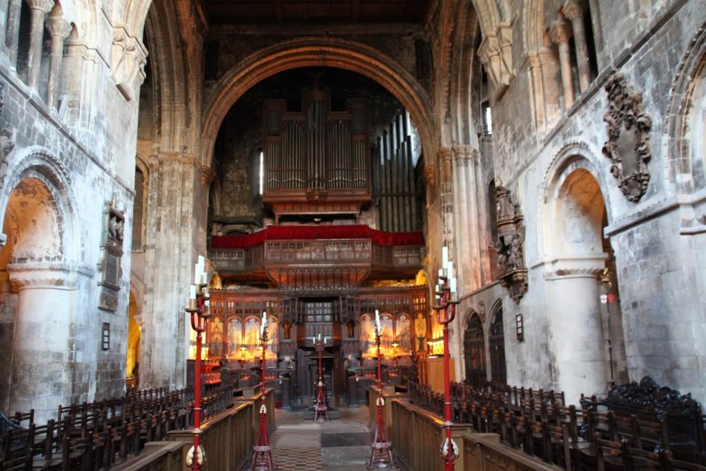Kirche Von St Bartholomew The Great