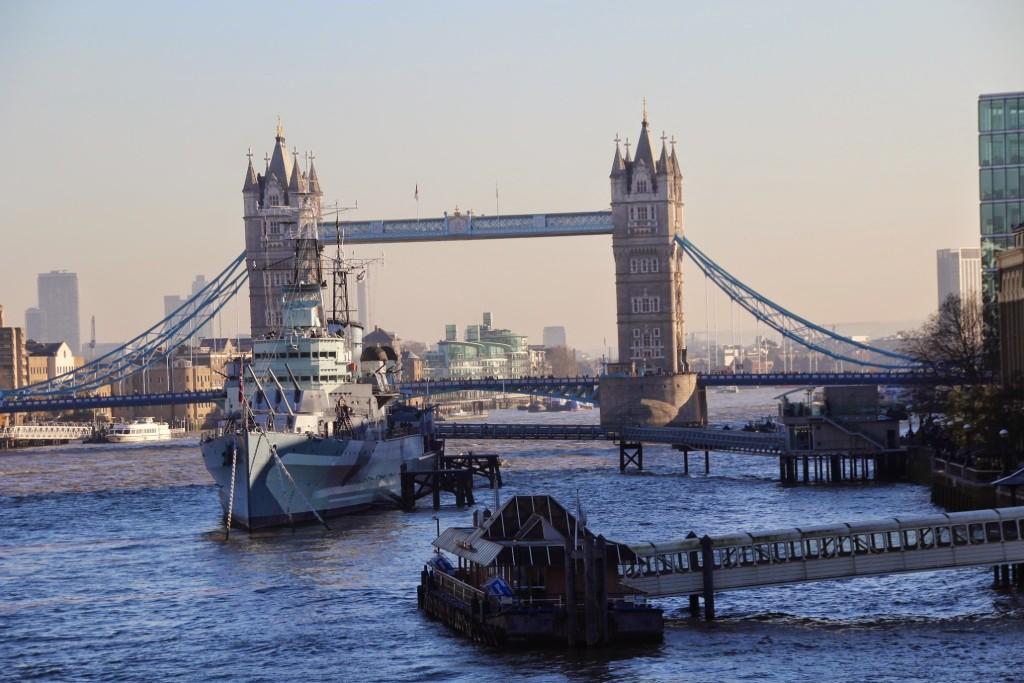 Viele Wege führen nach London. Mit Stenaline von Hoek van Holland nach Harwich