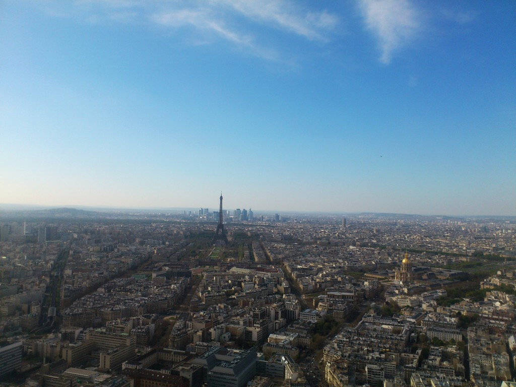 Paris von Montparnasse