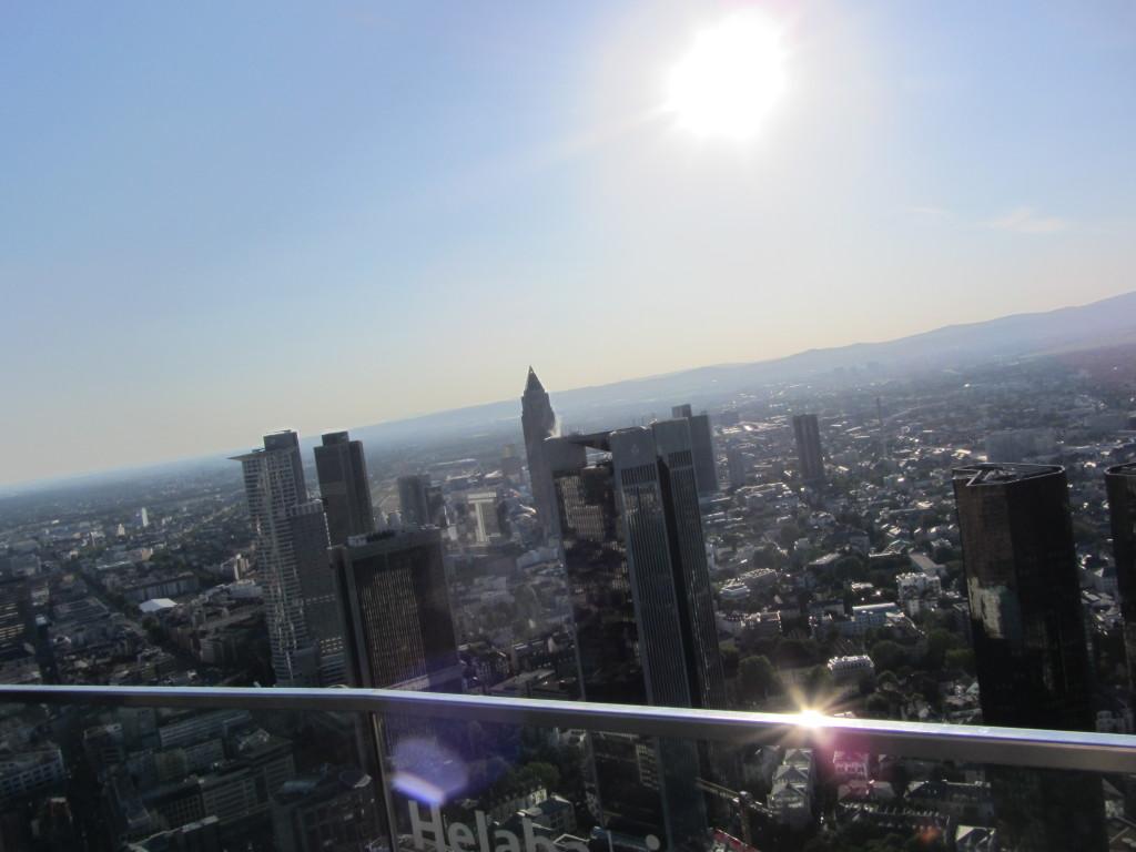 Über den Wolken - Frankfurt - Mai 2012