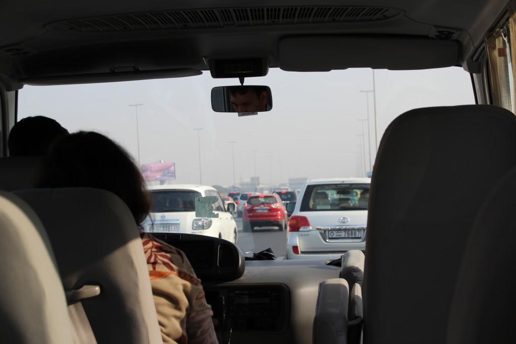 Stau in Dubai