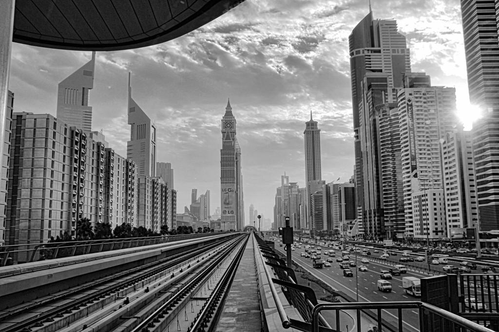 Titelbild unterwegs in Dubai