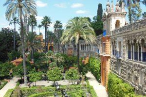 Sevilla - Real Alcázar, Galería de Grutesco / Jardín de las Damas