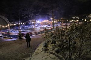 180 besondere Winter-Minuten – von einer ganz besonderen Begegnung auf dem Weißen Hirsch
