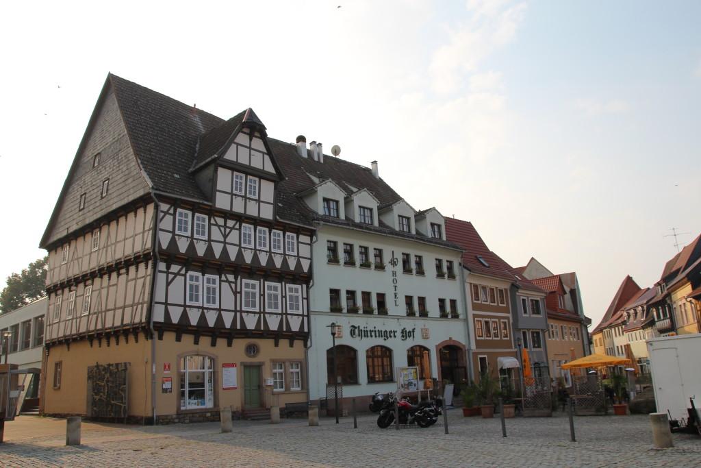 Thüringer Wald und Stadtinfo Bad Frankenhausen