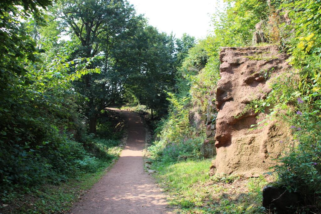 Wandern im Kyffhäuser-Gebirge - von alten Kindheitserinnerungen und dem Kaiser.