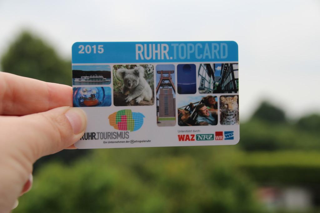 Ruhrtopcard 2015