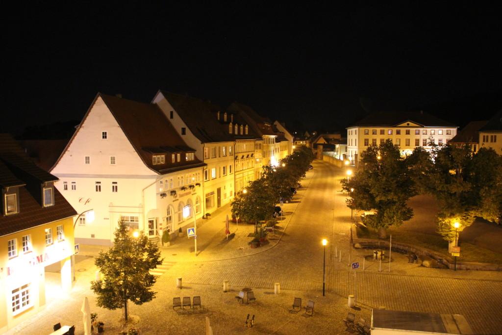 angerblick bad Frankenhausen nachts