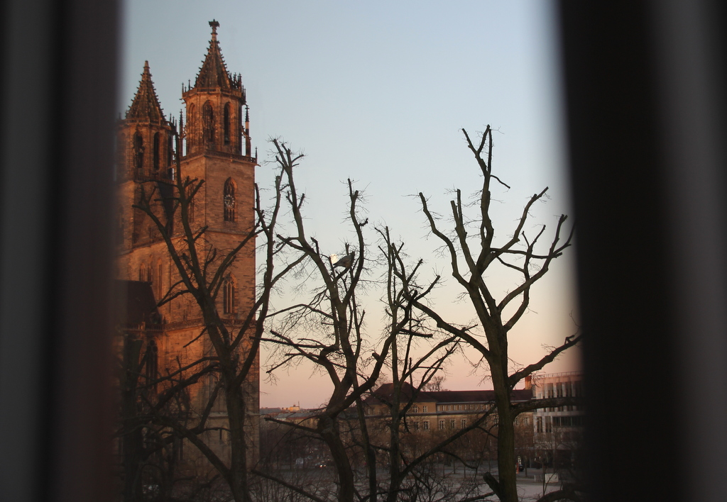 Motel One Magdeburg Ausblick