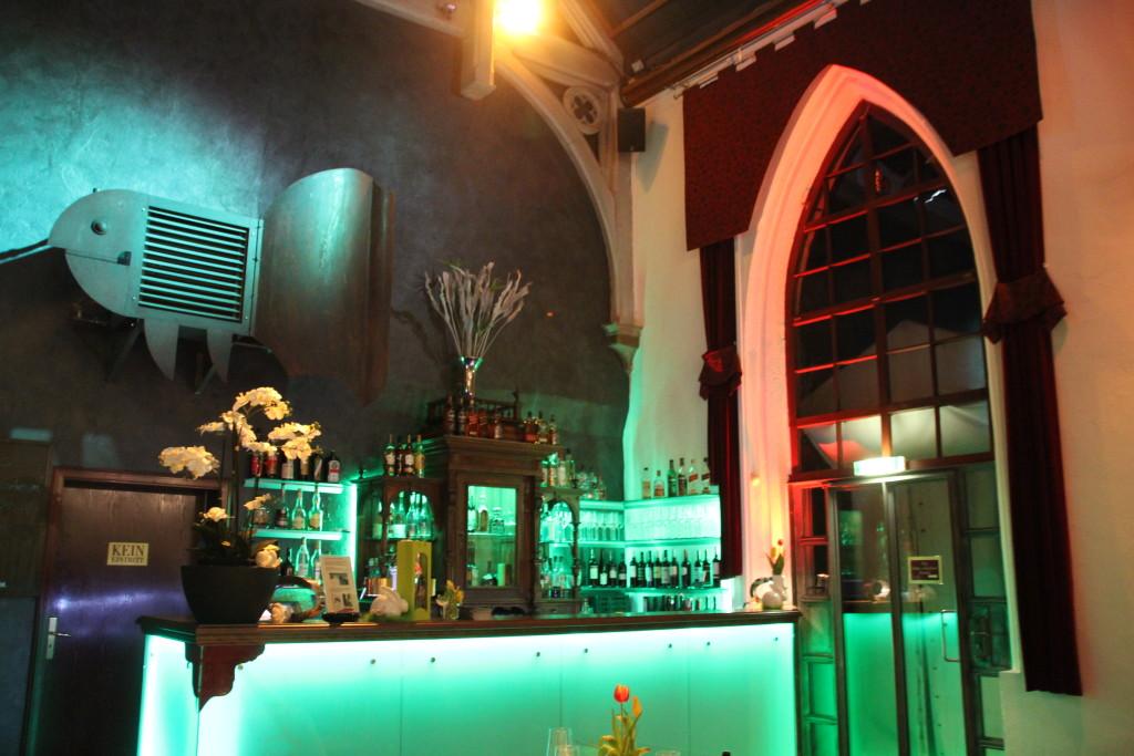 Altar bei Nacht