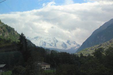 Von dem langsamsten Schnellzug der Welt - Glacier Express Erlebnisse