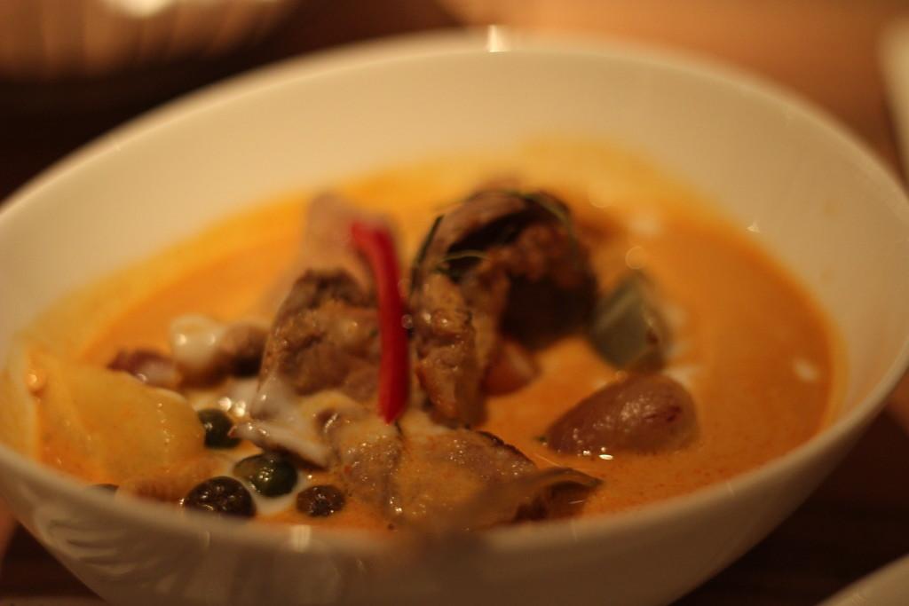 Abendessen Thailändisch