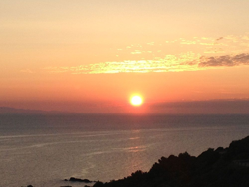 Elba-Sonnenuntergang
