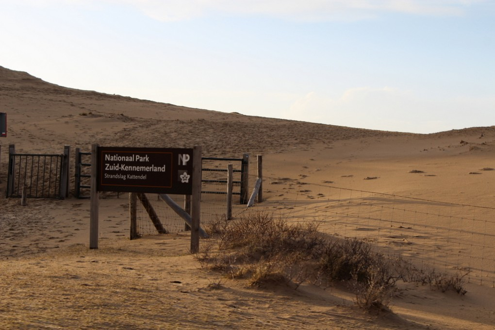 Nationalpark Zuid-Kennemerland – Ausgang Nordsee