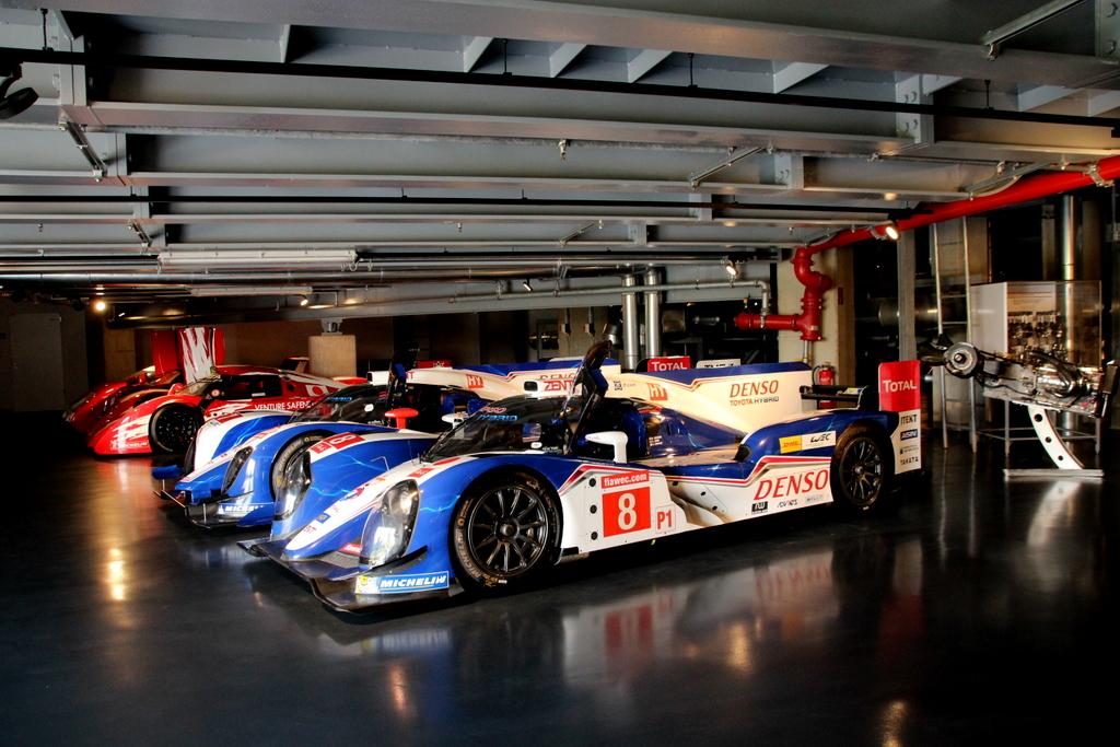 In den heiligen Hallen von Toyota Motorsport