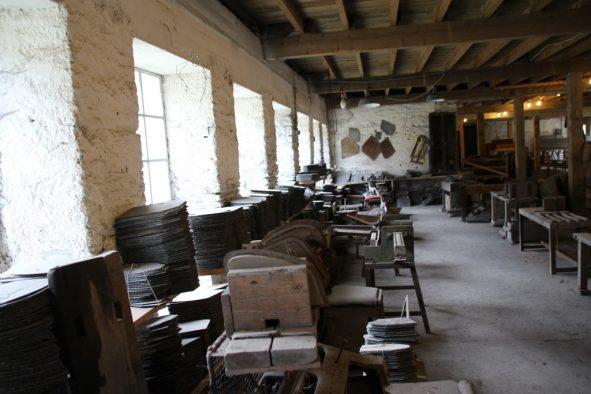 Eine Zeit(kreativ)Reise: Das Schiefermuseum de l'Ardoise