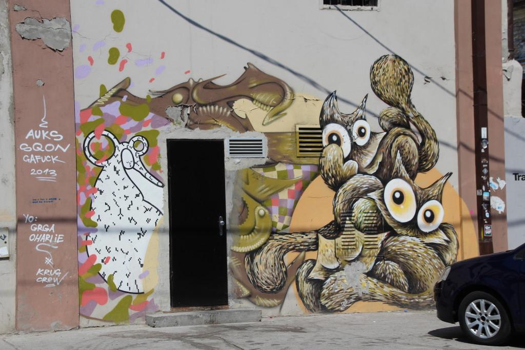 Streetart in Belgrad