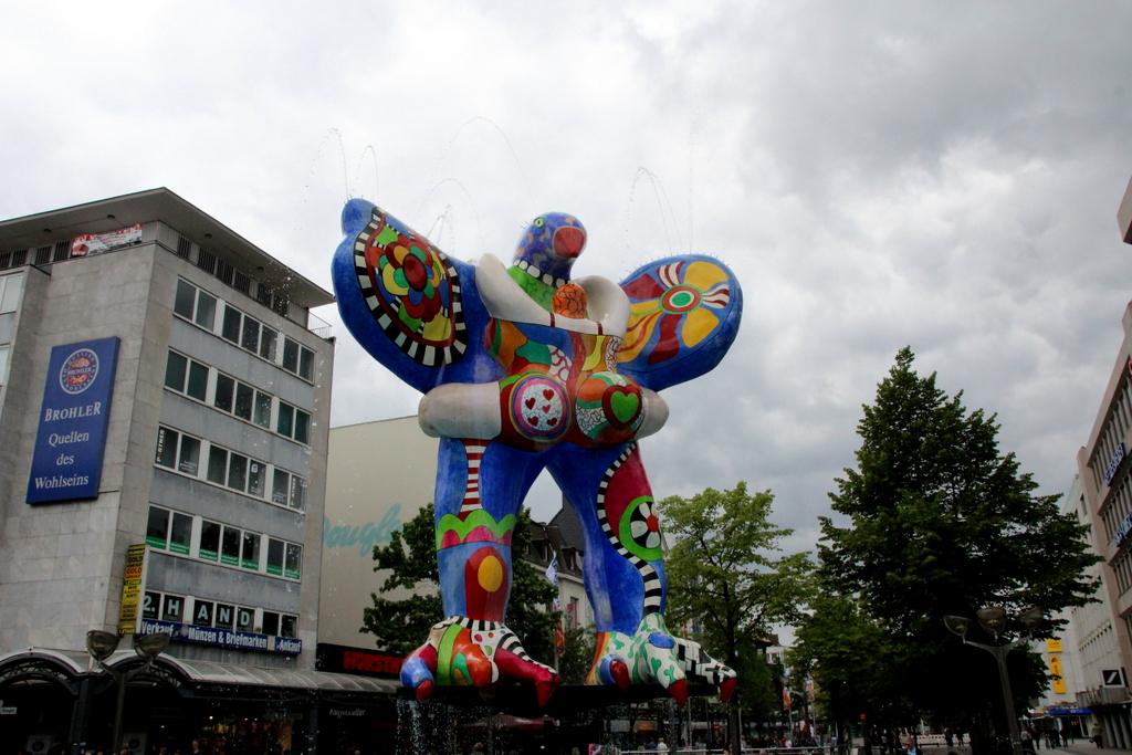 Lifesaverbrunnen Duisburg