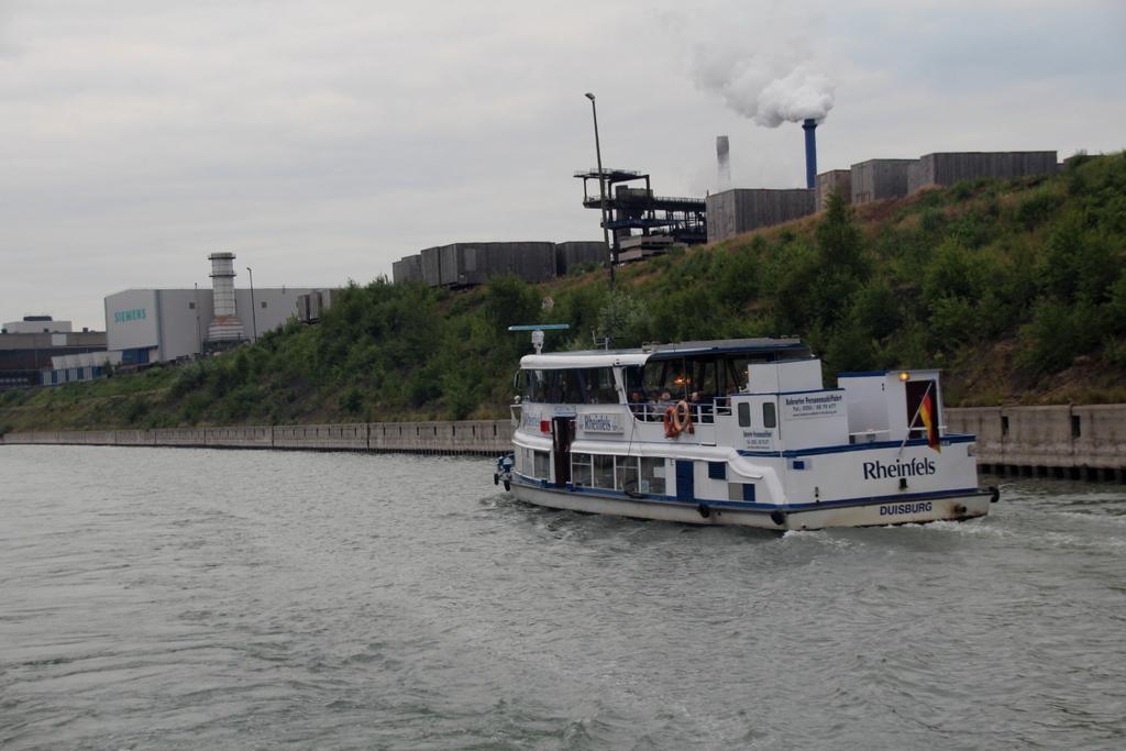 Rundfahrt Hafen Duisburg