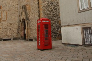 Englische Telefonzelle Bielefeld