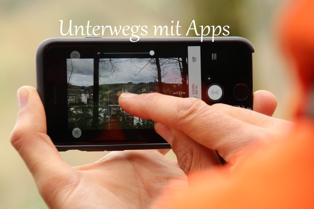 Unterwegs mit Apps