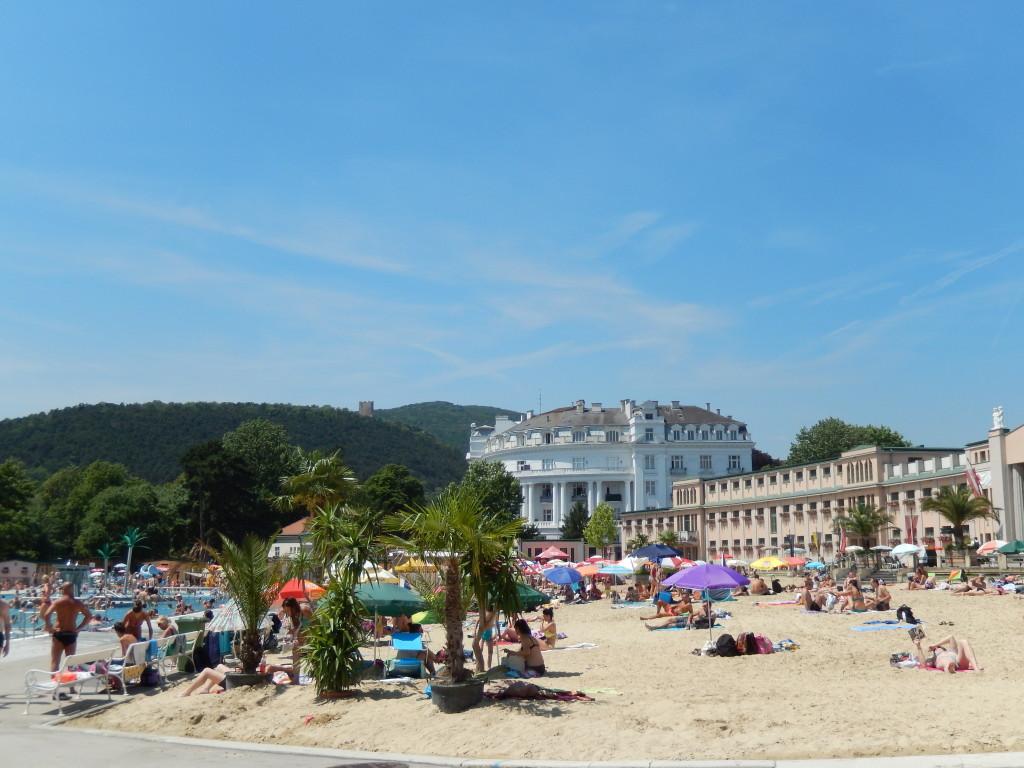 Urlaubsfeeling mitten in der Stadt - das Strandbad