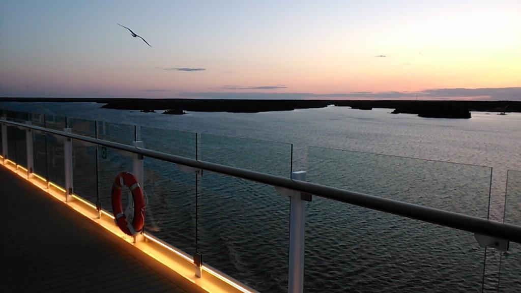 MeinSchiff 4 - Romantische Abendstimmung