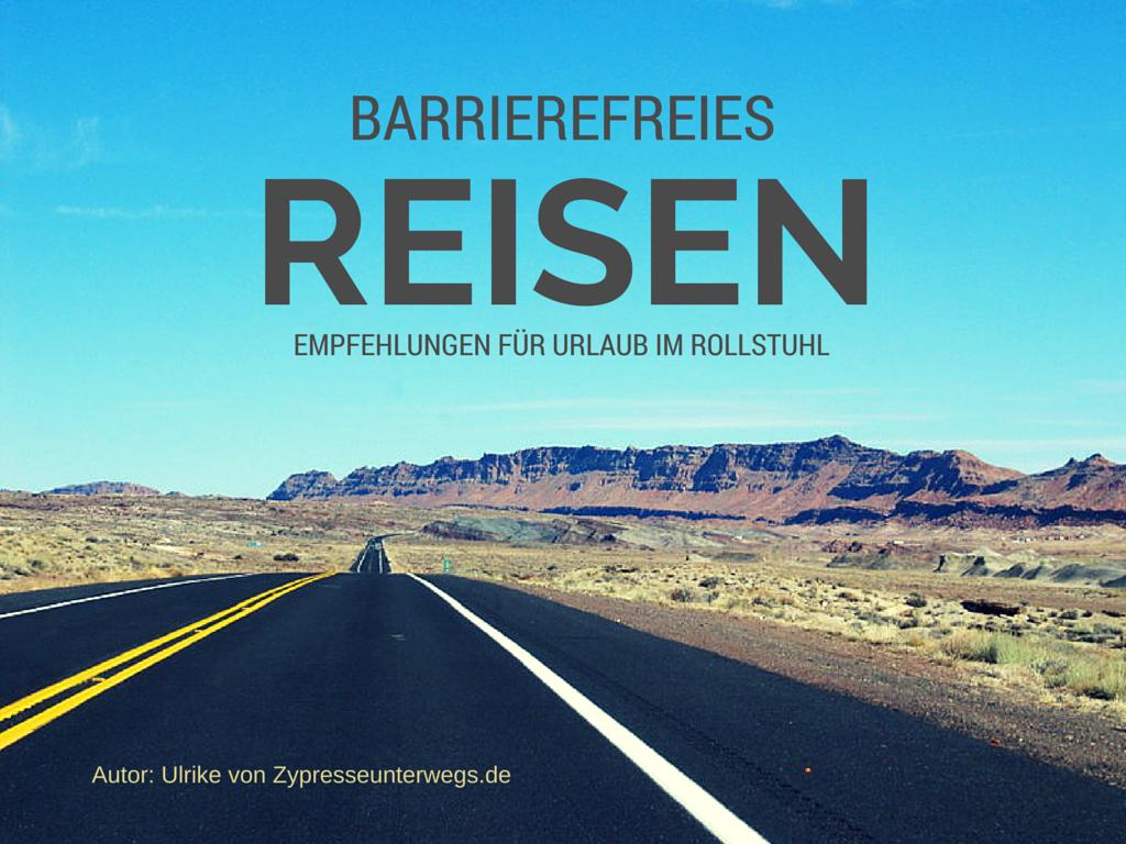 Barrierefreies Reisen