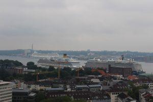 Kiel von oben – ein Zwischenstopp in der Hafenstadt
