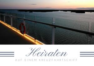 """""""MeinSchiff"""" – Unser Schiff: Heiraten auf einem Kreuzfahrtschiff"""