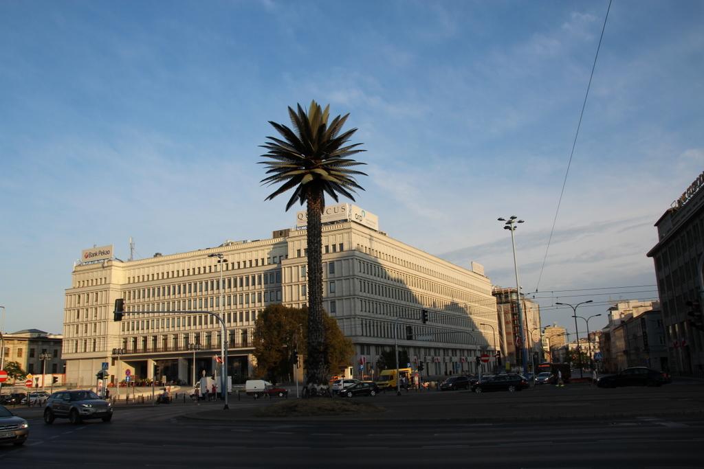 Palme - berühmter Treffpunkt in Warschau