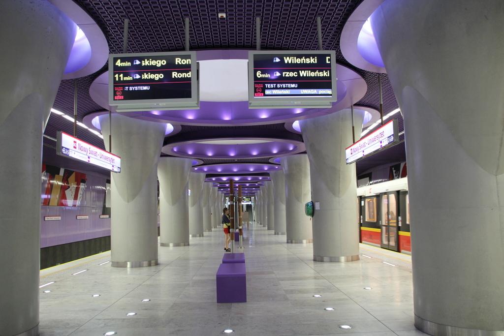Eine Metrostation