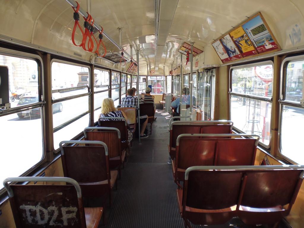 Bahnfahren in Wien