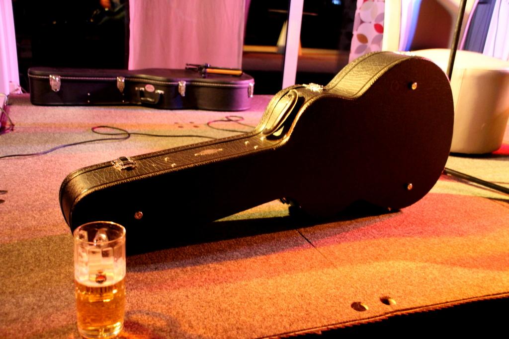 Gitarre Livekonzert