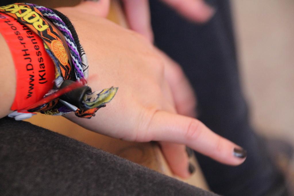 Klassenfahrt Neuharlingersiel - Kreativ arbeiten