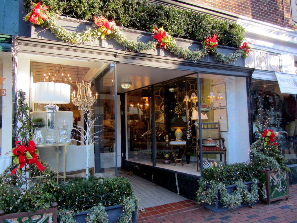 weihnachtsshopping auf amerikanisch ein wintertag in alexandria virginia. Black Bedroom Furniture Sets. Home Design Ideas
