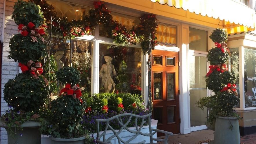 Weihnachtsdeko Amerikanisch weihnachtsshopping auf amerikanisch ein wintertag in alexandria