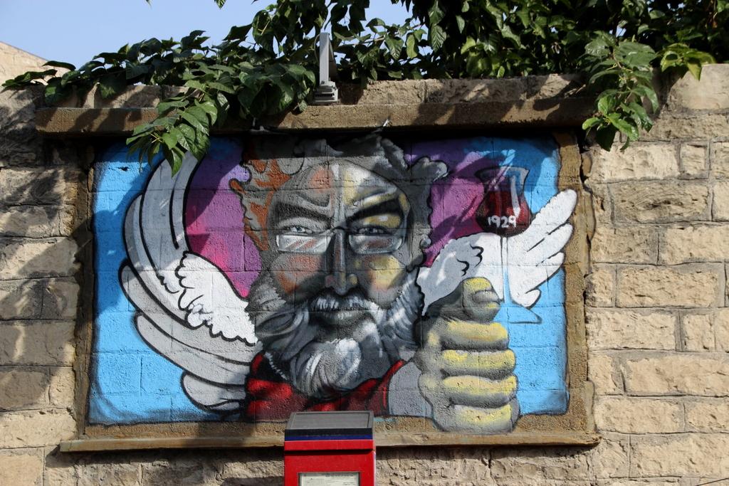 Streetart in Zypern